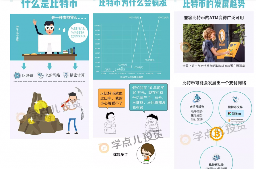 , Bank of China and Pro Bitcoin Infographic